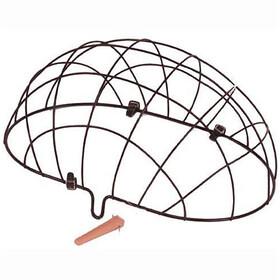 Basil Pluto Cestino per animali ruota anteriore rete metallica, black